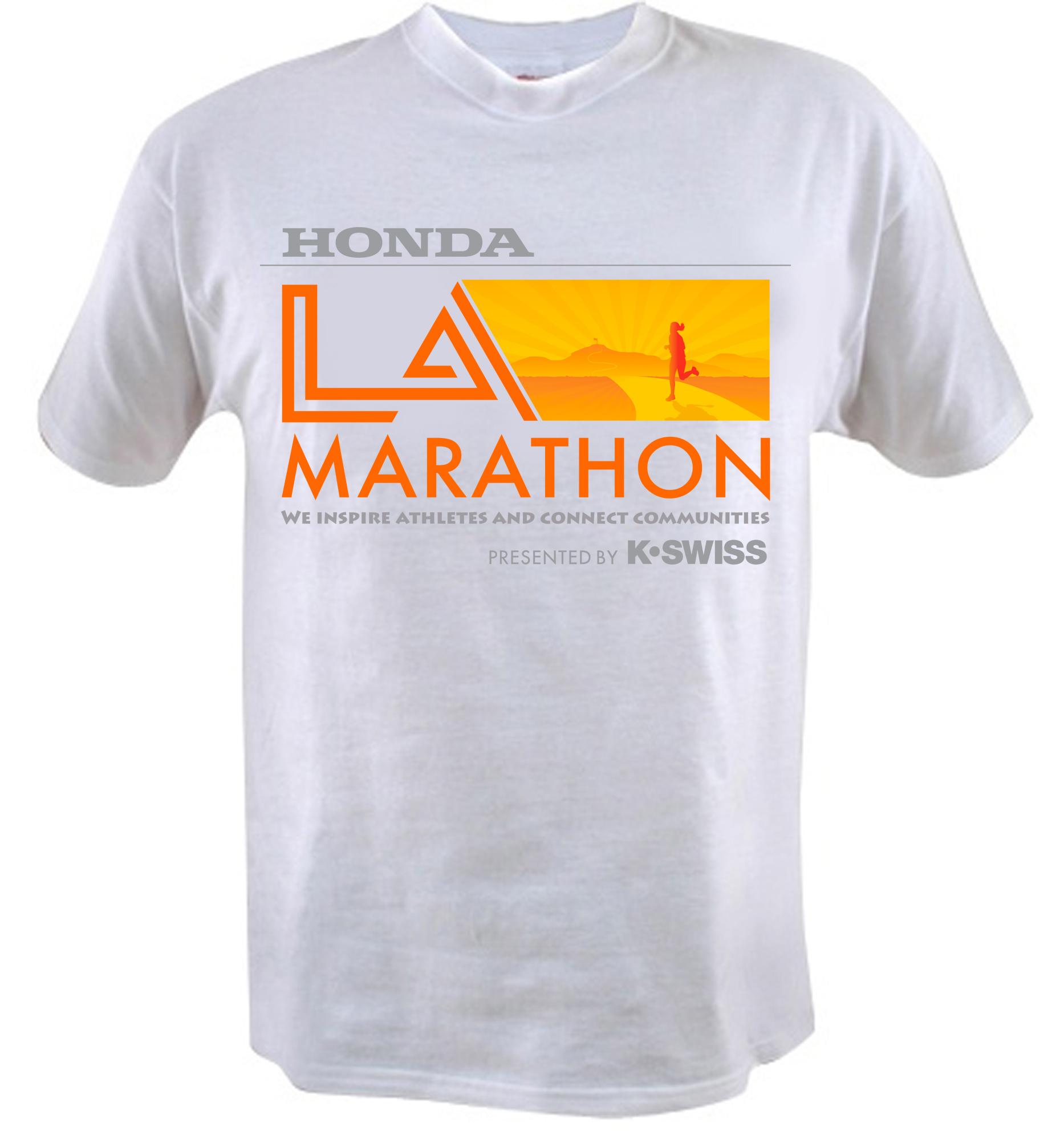 Shirt design los angeles - La Marathon T Shirt Design Competition Just A Memo