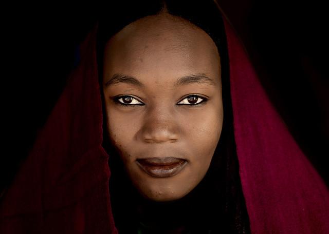 Tuareg woman, Libya by Eric Lafforgue