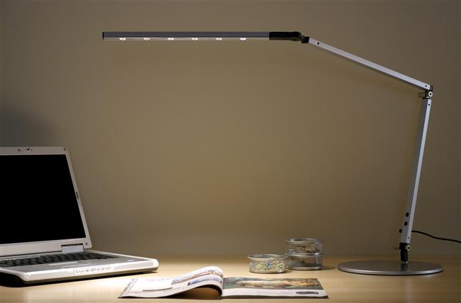Z Bar Desk Lamp Features The Award Winning Three Design For Ultimate Reach And Flexibility Super Adjule Led Head Can Spin In Its Socket
