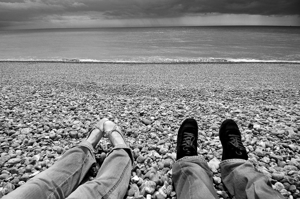 This is where it all began. Brighton beach, England.