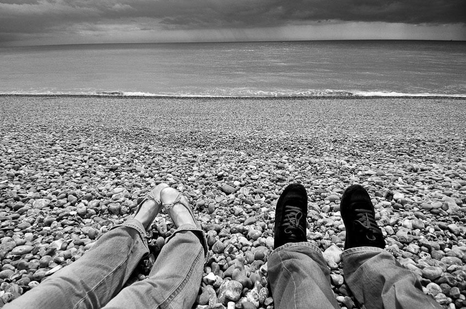 This is where it all began. Brighton beach, England.