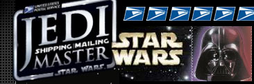 Star Wars USPS stamps