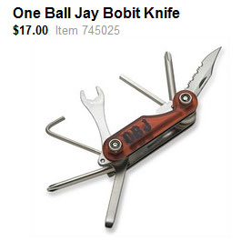 One Ball Jay Bobbit Knife